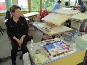 A watercolour workshop with Claudia Slater